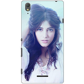 1 Crazy Designer Bollywood Superstar Shruti Hassan Back Cover Case For Sony Xperia T3 C640988