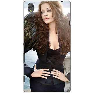 1 Crazy Designer Bollywood Superstar Aishwarya Rai Back Cover Case For Sony Xperia T3 C641001