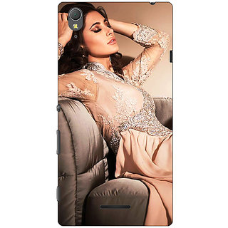 1 Crazy Designer Bollywood Superstar Nargis Fakhri Back Cover Case For Sony Xperia T3 C641010