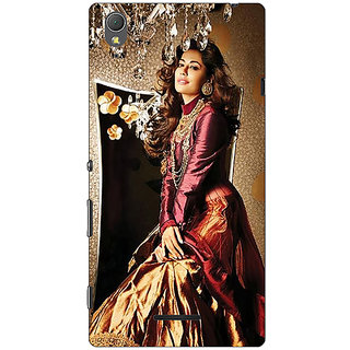 1 Crazy Designer Bollywood Superstar Chitrangada Singh Back Cover Case For Sony Xperia T3 C641033