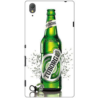 1 Crazy Designer Tuborg Beer Back Cover Case For Sony Xperia T3 C641244