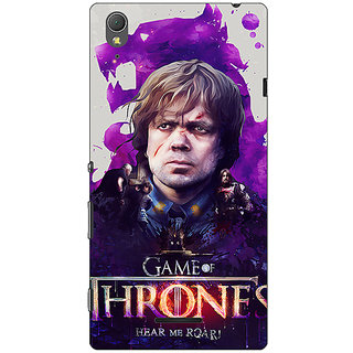 1 Crazy Designer Game Of Thrones GOT House Lannister Tyrion Back Cover Case For Sony Xperia T3 C641546