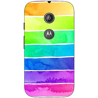1 Crazy Designer Shades Of Life Pattern Back Cover Case For Moto E2 C650250
