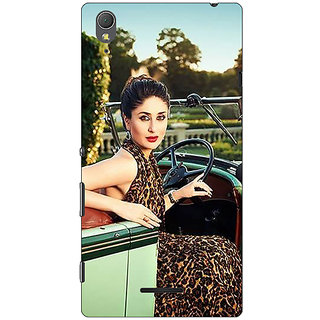 1 Crazy Designer Bollywood Superstar Kareena Kapoor Back Cover Case For Sony Xperia T3 C641054