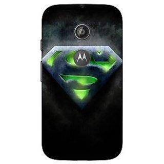 1 Crazy Designer Superheroes Superman Back Cover Case For Moto E2 C650389