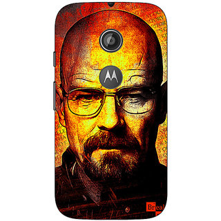 1 Crazy Designer Breaking Bad Heisenberg Back Cover Case For Moto E2 C650405
