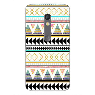 1 Crazy Designer Aztec Girly Tribal Back Cover Case For Moto X Play C660067