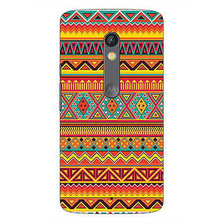 1 Crazy Designer Aztec Girly Tribal Back Cover Case For Moto X Play C660070