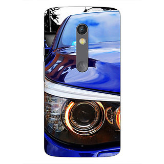 1 Crazy Designer Super Car BMW Back Cover Case For Moto X Play C660636