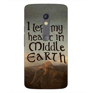 1 Crazy Designer LOTR Hobbit  Back Cover Case For Moto X Play C660377