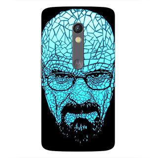1 Crazy Designer Breaking Bad Heisenberg Back Cover Case For Moto X Play C660428