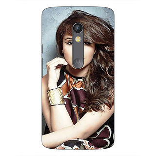 1 Crazy Designer Bollywood Superstar Parineeti Chopra Back Cover Case For Moto X Play C660999