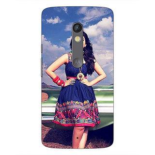 1 Crazy Designer Bollywood Superstar Parineeti Chopra Back Cover Case For Moto X Play C661003