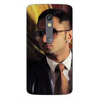 1 Crazy Designer Bollywood Superstar Honey Singh Back Cover Case For Moto X Play C661184