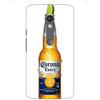 1 Crazy Designer Corona Beer Back Cover Case For Moto X Play C661247