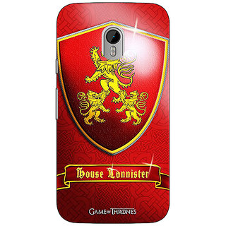 1 Crazy Designer Game Of Thrones GOT House Lannister  Back Cover Case For Moto G3 C670164