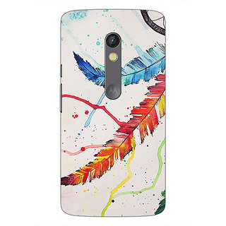 1 Crazy Designer Dream Catcher  Back Cover Case For Moto X Play C660195