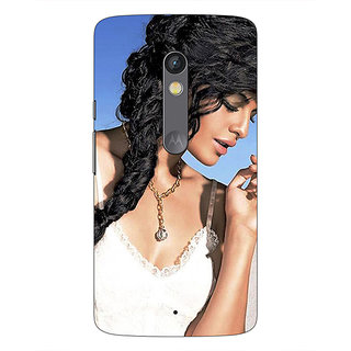 1 Crazy Designer Bollywood Superstar Jacqueline Fernandez Back Cover Case For Moto X Play C661052