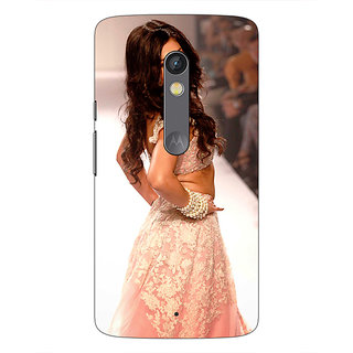 1 Crazy Designer Bollywood Superstar Shruti Hassan Back Cover Case For Moto X Play C661072