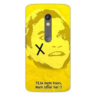 1 Crazy Designer Bollywood Superstar Andaz Apna Apna Teja Back Cover Case For Moto X Play C661078