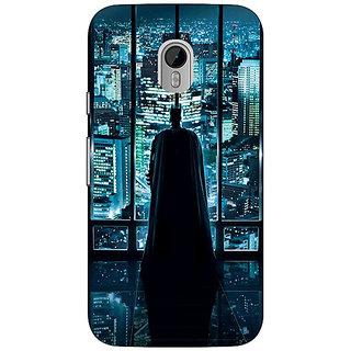 1 Crazy Designer Superheroes Batman Dark knight Back Cover Case For Moto G3 C670002