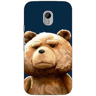 1 Crazy Designer TED Teddy Back Cover Case For Moto G3 C670491