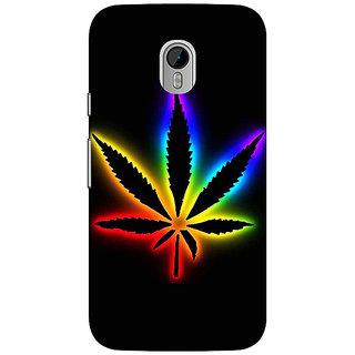 1 Crazy Designer Weed Marijuana Back Cover Case For Moto G3 C670492