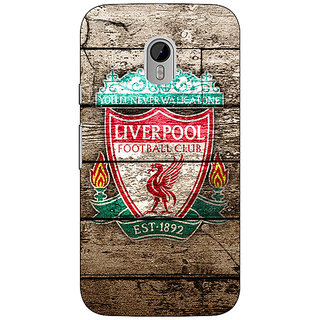1 Crazy Designer Liverpool Back Cover Case For Moto G3 C670548
