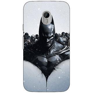 1 Crazy Designer Super Heroes Batman Back Cover Case For Moto G3 C670847
