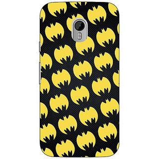 1 Crazy Designer Superheroes Batman Dark knight Back Cover Case For Moto G3 C670012
