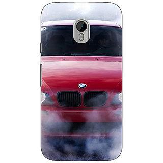 1 Crazy Designer Super Car BMW Back Cover Case For Moto G3 C670624