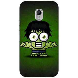 1 Crazy Designer Big Eyed Superheroes Hulk Back Cover Case For Moto G3 C670394