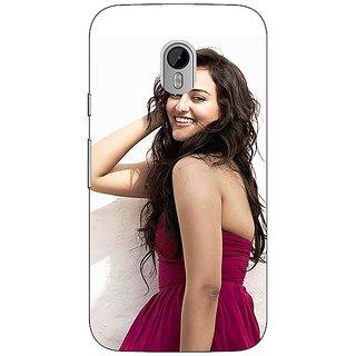 1 Crazy Designer Bollywood Superstar Sonakshi Sinha Back Cover Case For Moto G3 C671020