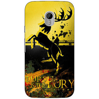 1 Crazy Designer Game Of Thrones GOT Baratheon Back Cover Case For Moto G3 C671530