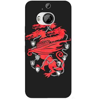 1 Crazy Designer Game Of Thrones GOT House Lannister  Back Cover Case For HTC M9 Plus C680157