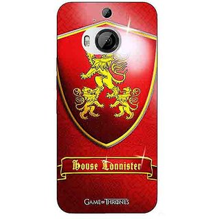 1 Crazy Designer Game Of Thrones GOT House Lannister  Back Cover Case For HTC M9 Plus C680164