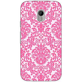 1 Crazy Designer Pretty Pink Back Cover Case For Moto G3 C670770