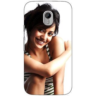 1 Crazy Designer Bollywood Superstar Neha Sharma Back Cover Case For Moto G3 C671058