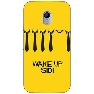 1 Crazy Designer Bollywood Superstar Wake Up Sid Back Cover Case For Moto G3 C671096