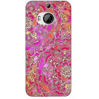 1 Crazy Designer Hot Floral  Pattern Back Cover Case For HTC M9 Plus C680241