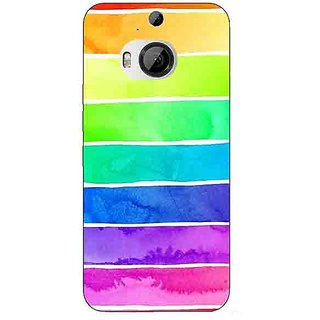 1 Crazy Designer Shades Of Life Pattern Back Cover Case For HTC M9 Plus C680250