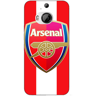 1 Crazy Designer Arsenal Back Cover Case For HTC M9 Plus C680509