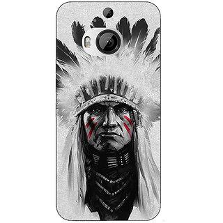 1 Crazy Designer Triabl Man Back Cover Case For HTC M9 Plus C680829