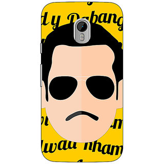 1 Crazy Designer Bollywood Superstar Chulbul Pandey Salman Khan Back Cover Case For Moto G3 C671120
