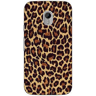 1 Crazy Designer Leopard Cheetah Pattern Back Cover Case For Moto G3 C671387