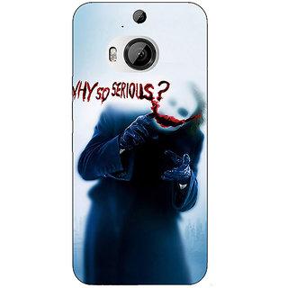 1 Crazy Designer Villain Joker Back Cover Case For HTC M9 Plus C680041