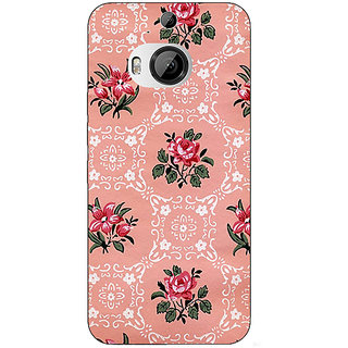 1 Crazy Designer Floral Pattern  Back Cover Case For HTC M9 Plus C680663