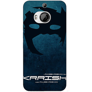 1 Crazy Designer Bollywood Superstar Krrish Back Cover Case For HTC M9 Plus C681129