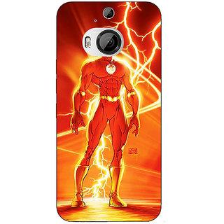 1 Crazy Designer Flash Back Cover Case For HTC M9 Plus C681424