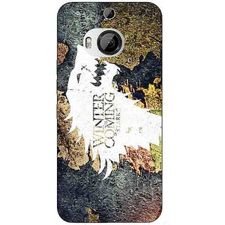 1 Crazy Designer Game Of Thrones GOT House Stark  Back Cover Case For HTC M9 Plus C680124